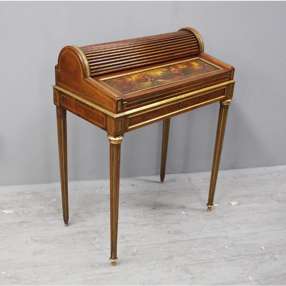french victorian mahogany bureau de dame
