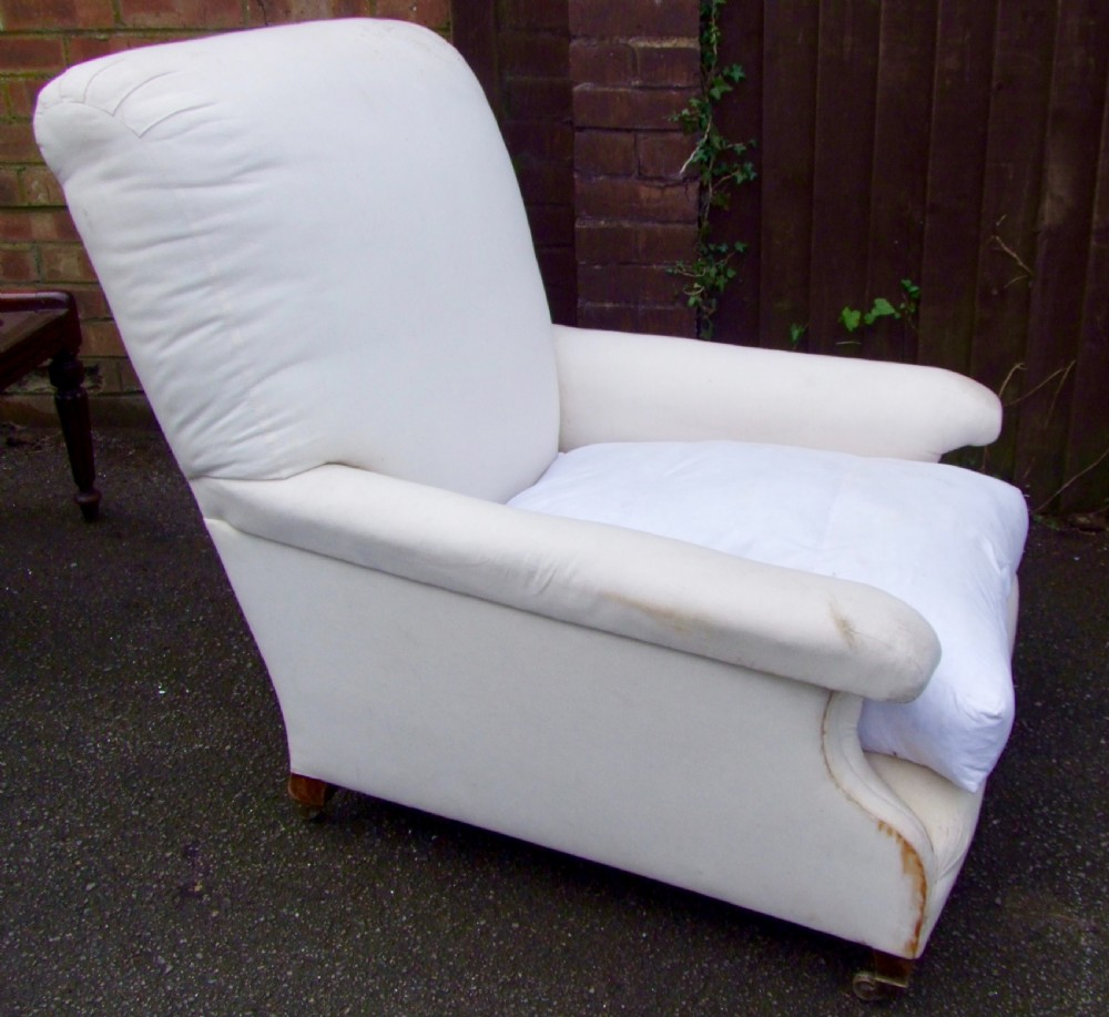 19th century howard and sons armchair