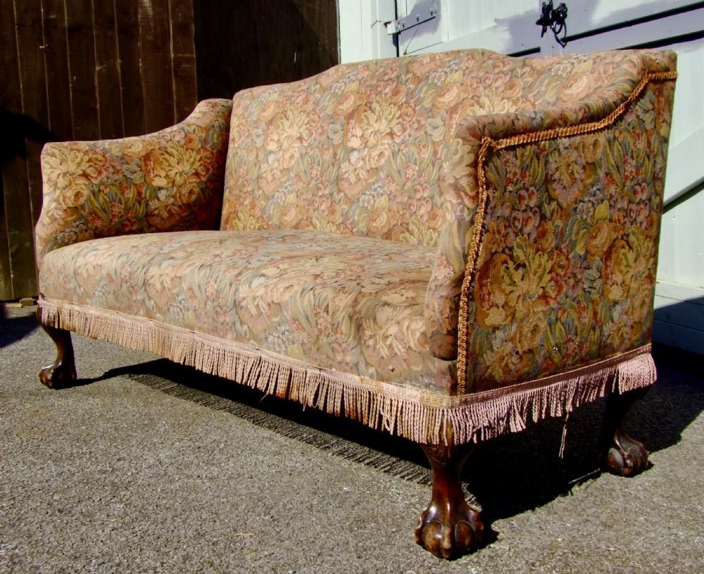 small edwardian sofa