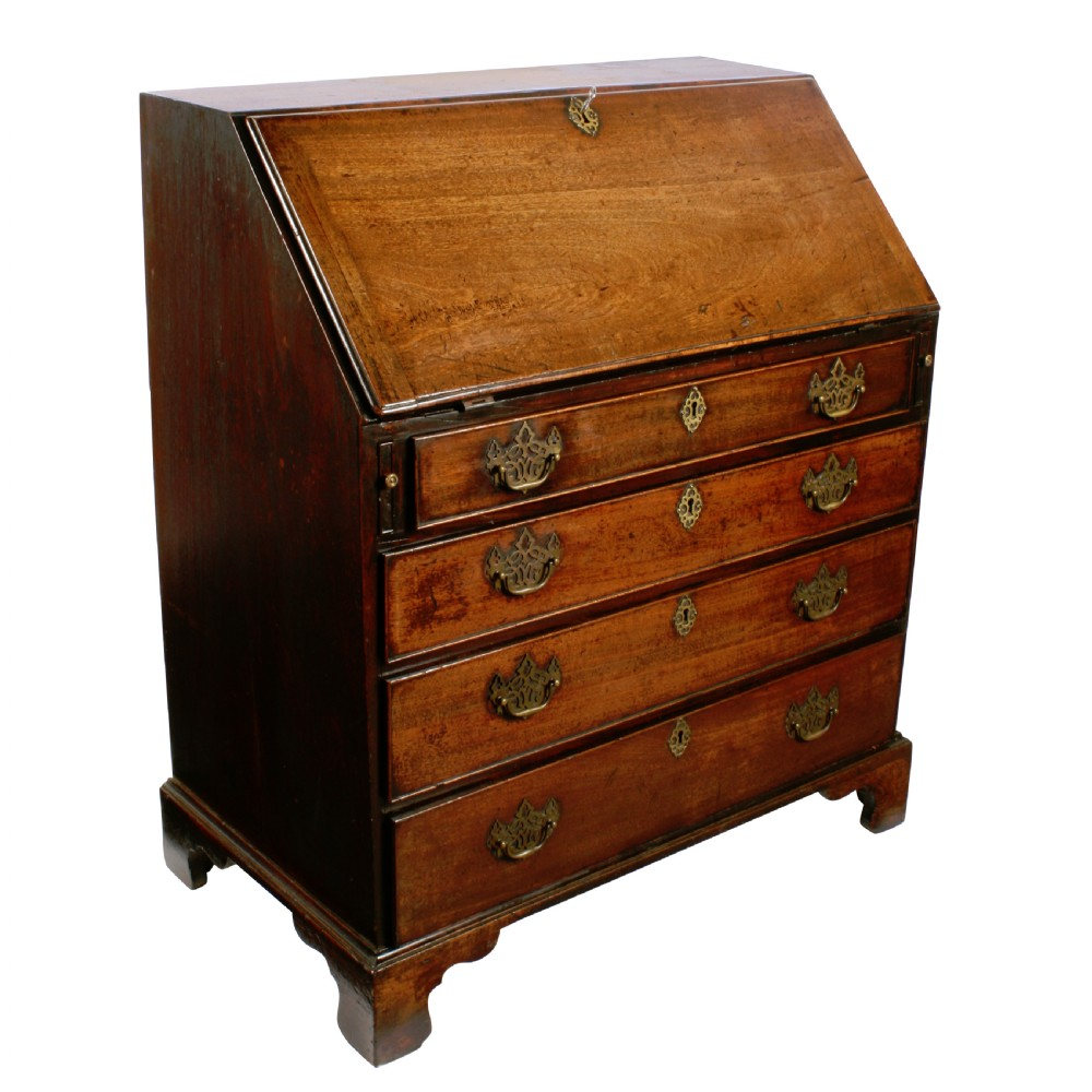 18th century georgian mahogany bureau