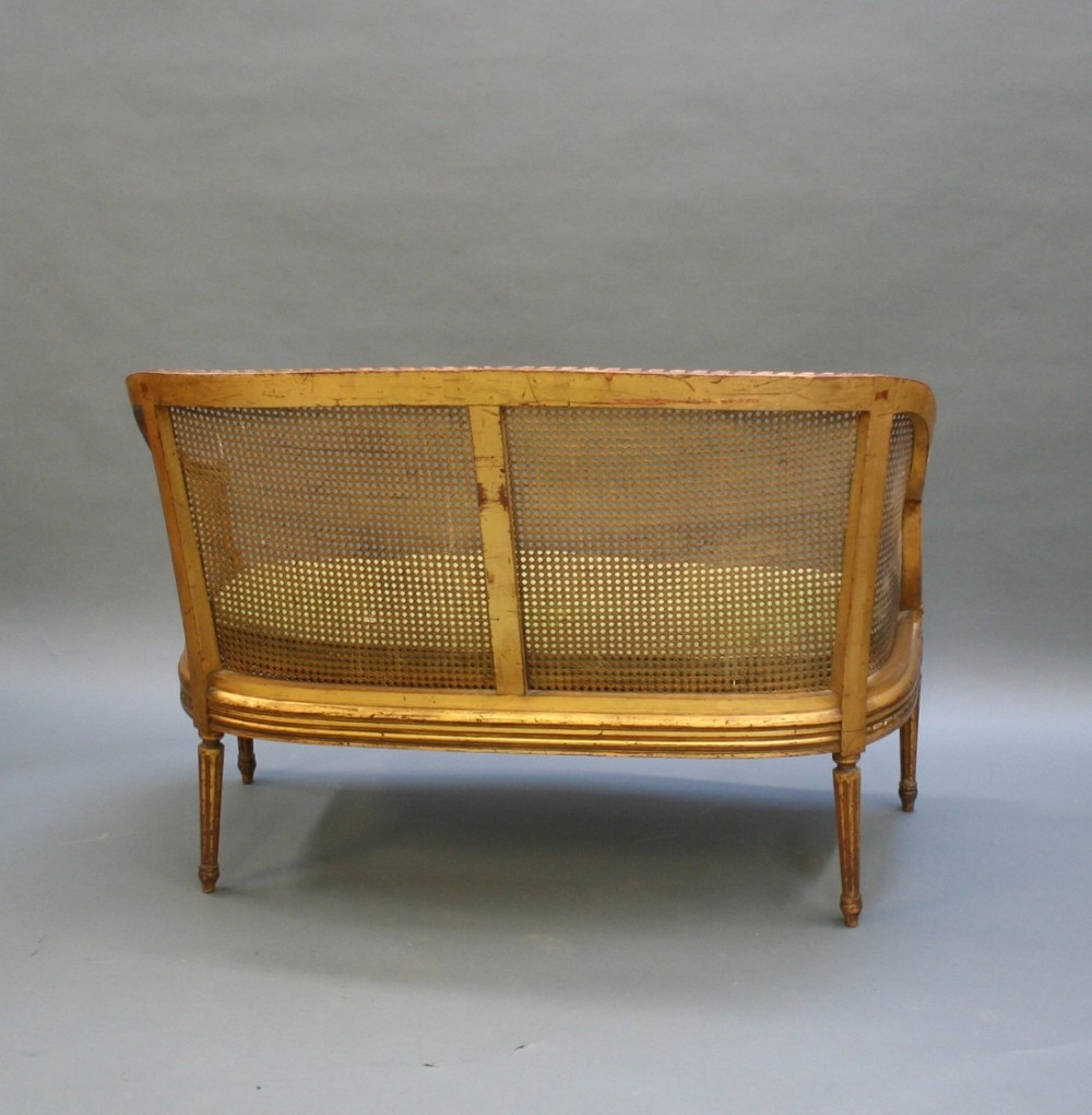 French gilt sofa canape 469269 for What does canape mean in french