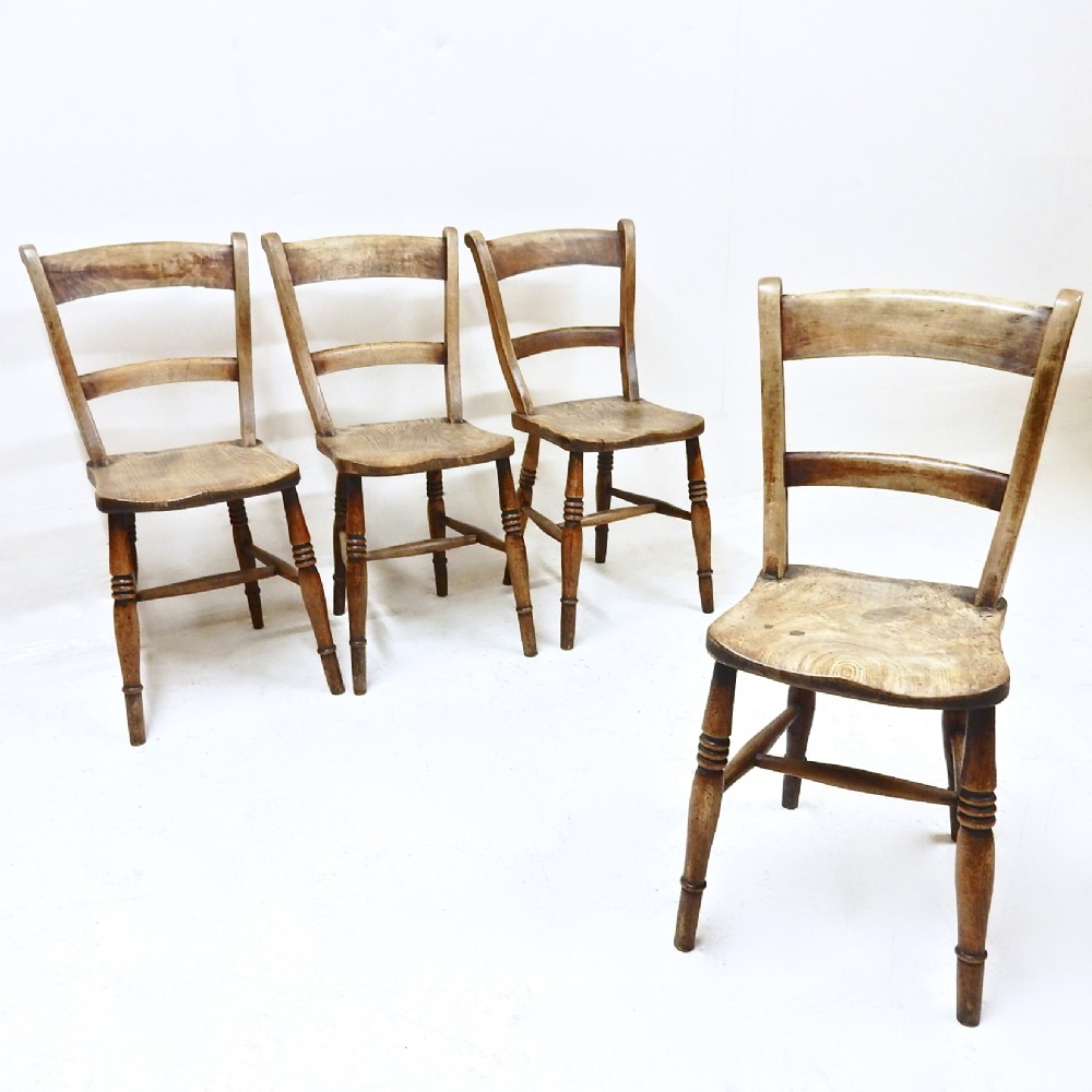 set 4 kitchen chairs 502304 sellingantiques