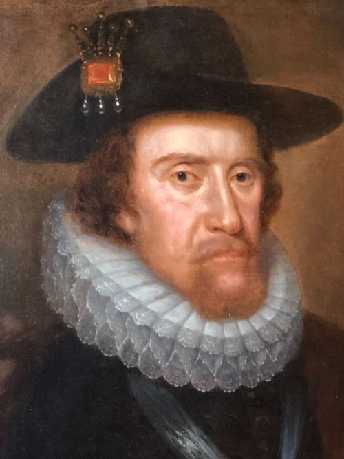 NPG D25711; King James I of England and VI of Scotland