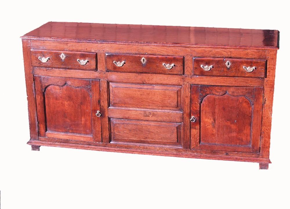 antique 18th century oak dresser