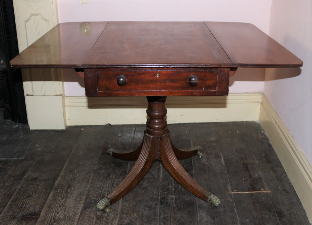 regency mahogany pembroke supper table circa 1820